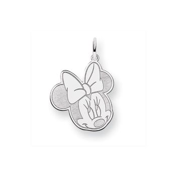 Disney's Sterling Silver Flirty Minnie Mouse Charm