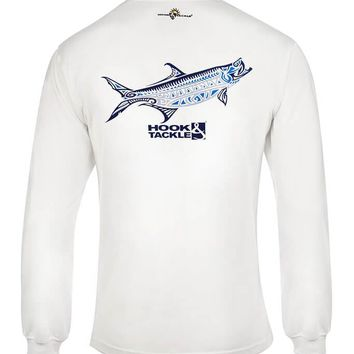 Men's Megalops L/S UV Fishing T-Shirt