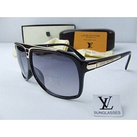 LV Women Man Casual Sun Shades Eyeglasses Glasses