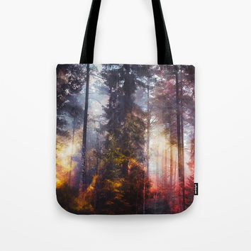Warm fuzzy feelings Tote Bag by happymelvin