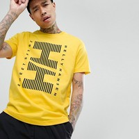 Sweet SKTBS x Helly Hansen T-Shirt With Large Striped Logo at asos.com