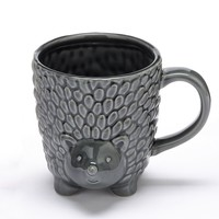 Food Network 16-oz. Hedgehog Mug (Grey)