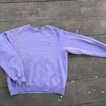 Polo Ralph Lauren small pony sweatshirt vintage jumper