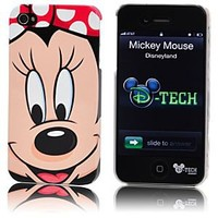 Minnie Mouse Face iPhone 4 Case | Disney Store