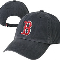 Boston Red Sox Navy '47 Brand Cleanup Adjustable Hat
