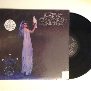 LP Album Stevie Nicks Bella Donna Vinyl Record 1981 Kind of Woman Edge of Seventeen