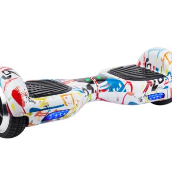 """6.5"""" UL 2272 M01 Smart Self Balancing Electric E Scooter Hoverboard Paint v2"""