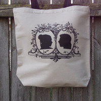 Star Princess and Scoundrel Tote Bag.  Fandom Bag. Cotton Canvas Bag.