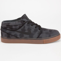 Nike Sb Zoom Stefan Janoski Mid Mens Shoes Anthracite/Black/Cool Grey  In Sizes