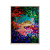 "Ebi Emporium ""Welcome to Utopia"" Rainbow KESS Naturals Canvas (Frame not Included)"