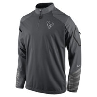Nike Platinum Fly Rush 2.0 Half-Zip (NFL Texans) Men's Training Top