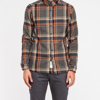 Native Youth Maxi Check Herringbone Shirt
