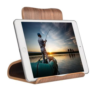 SAMDI Ultra Light Wooden Tablet Computer Holder Stand Support for iPad