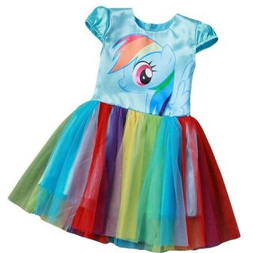 Girls My Little Pony Party Dress