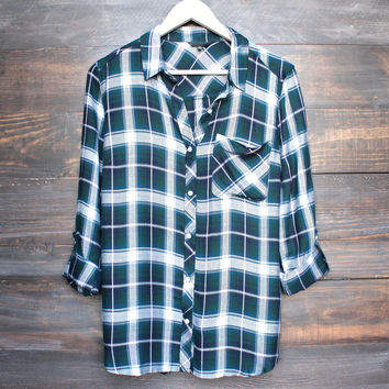 working at the rails button up plaid shirt (more colors)