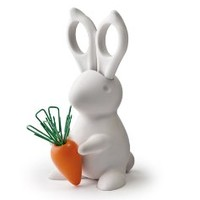 Bunny Desk Organiser - Scissors and Paper Clips Holder