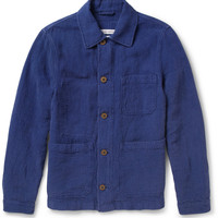 Michael Bastian - Billy Textured Linen and Cotton-Blend Jacket | MR PORTER