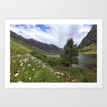 Glen Etive Art Print by anipani