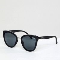 Quay Australia My Girl Cat Eye Sunglasses In Black at asos.com