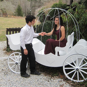 Cinderella Pumpkin Carriage Full Size Wedding by Miniwagons
