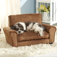 Enchanted Home Pet Ultra Plush Club Dog Sofa