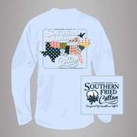 Quilted South Long Sleeve (Multiple Colors)