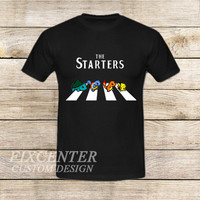 The Starters Pokemon Abbey Road on T shirt