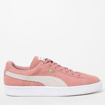 DCCKYB5 Puma Women's Pink Suede Classic Sneakers