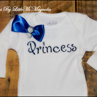 "Kids Clothes Baby Clothes ""Princess Sparkle"" T Shirt or Baby Shower Gift"