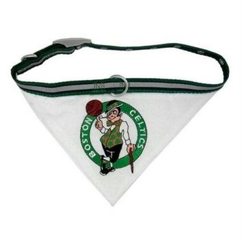 ESBONI Boston Celtics Dog Collar Bandana