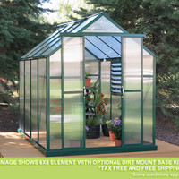Grandio Element 6 Foot all year Greenhouse Kit