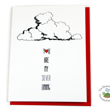Romantic Anniversary Card for Wife or Husband.  Freindship.  Best Friends.  Thank You Greeting.
