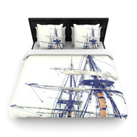 "Bree Madden ""Pirate Ship"" Fleece Duvet Cover"
