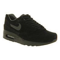 Nike AIR MAX 1 BLACK ANTHRACITE GREY Shoes - Nike Trainers - Office Shoes