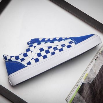 VANS Old Skool Blue classic low back casual shoes