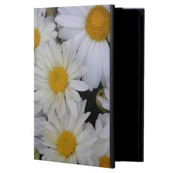 Dew-Kissed Daisies Floral Photo iPad Air Covers