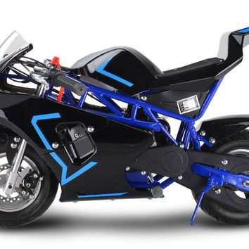 Venom 33cc 2-Stoke Premium Pocket Bike - M3 BLUE