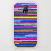 Samsung Galaxy S5 Case - Broken Stripes - unique Samsung Galaxy S5 Case, hipster Samsung Galaxy S5 Case