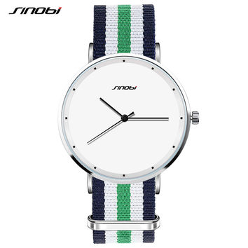 SINOBI 2016 Classic Watch Quartz-watch Men's Dress Wristwatch Clock Man Women Steel Casual Watches Relogio Masculino Football