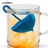Creative Mr Cute Umbrella Shape Silicone Tea Infuser Coffee Strainers Filter Infusers Tea bag