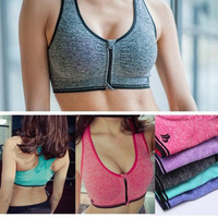 Women Seamless Yoga Sports Bra Crop Top Vest Padded = 1932272516