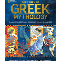 National Geographic Treasury of Greek Mythology Hardcover | zulily