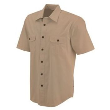 Academy - Magellan Outdoors™ Men's Short Sleeve Sueded Heritage Twill Shirt