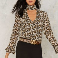 Shoshanna Cut-Out Blouse