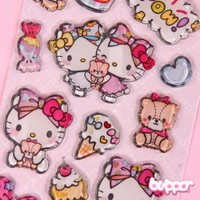 Hello Kitty Sticker - Sweets