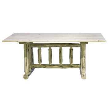 Montana Woodworks Montana Trestle Based Dining Table