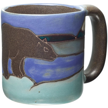 Bear Hand-Etched Mug