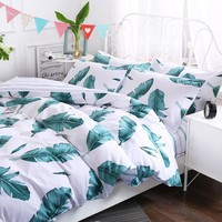 Multicolor Cotton Simple 3/4pcs Beding Sets Single Beds Double Beds King size RUIYEE Bedding Quilt Cover Sheet Sets Pillowcases