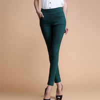 Women's Jeans Fashion Candy Color Skinny Pants low waist With 4 Pockets Cotton Trousers Fit Lady Jeans Women M-XL A0150