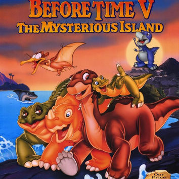 The Land Before Time 5: The Mysterious Island 11x17 Movie Poster (1997)